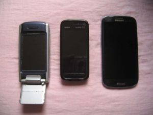 P900-Nokia5800-Samsung GalaxySIII-RememberEverythingOrg