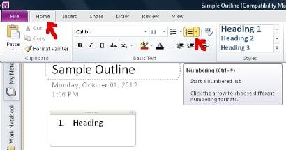 Sample-Outline-OneNote-1