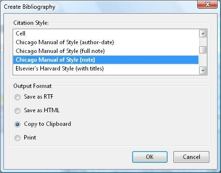 chicago style bibliography creator