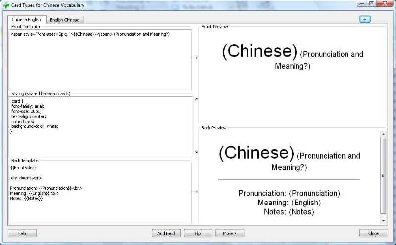 Card-Type-Chinese-English-Anki-2