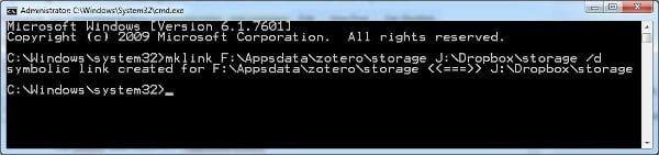 Zotero-Dropbox-Sync-CMD-mklink1a