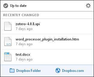 Zotero-Dropbox-Sync-Dropbox-openfolder