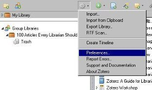Zotero-Dropbox-Sync-Preferences