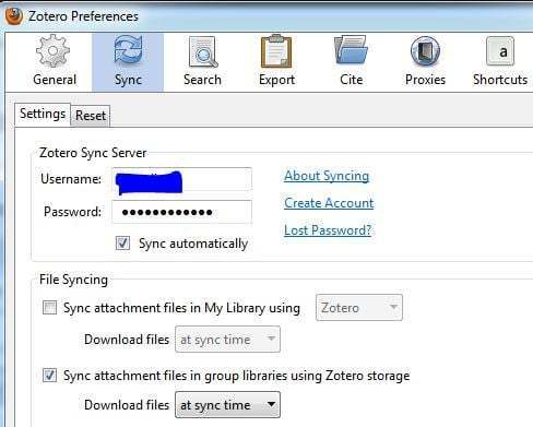 Syncing Zotero with Dropbox and Between Several Computers