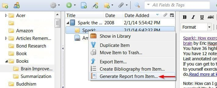 Zotero-Kindle-generate-report-from-note-08