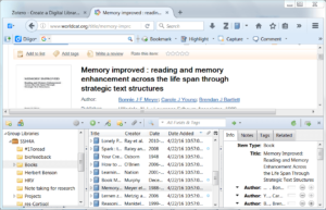 Zotero-Research-Management-Software