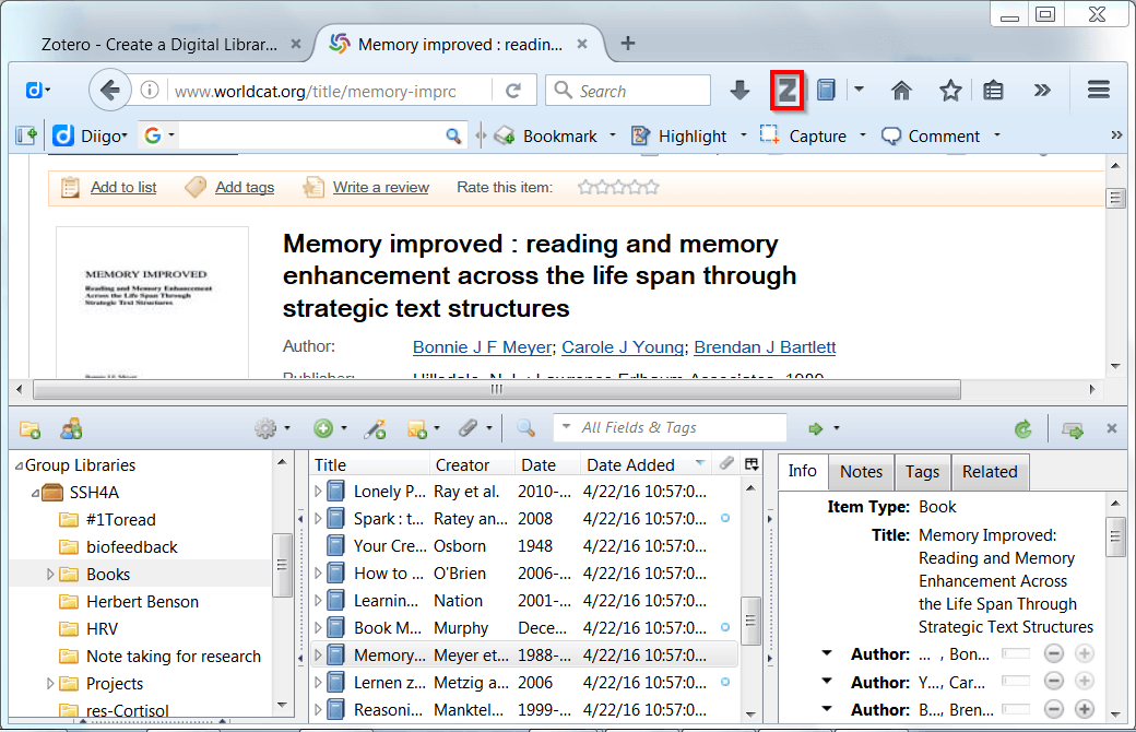 Zotero-Research-Management-in-Firefox