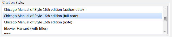 zotero-word-plugin-citation-style