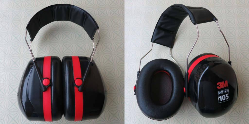 3M Peltor Optime 105 H10A earmuffs