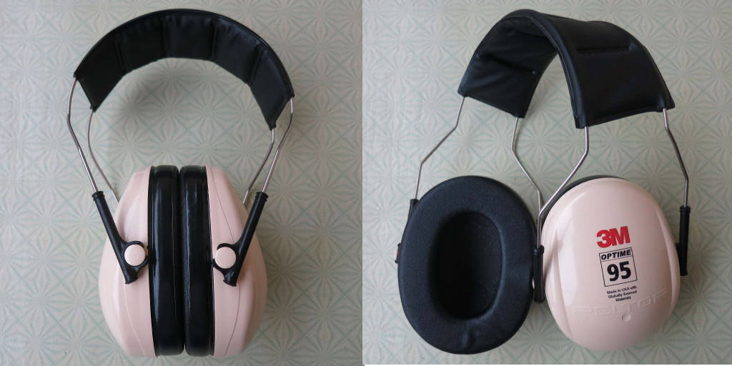 3M Peltor Optime 95 H6A earmuffs