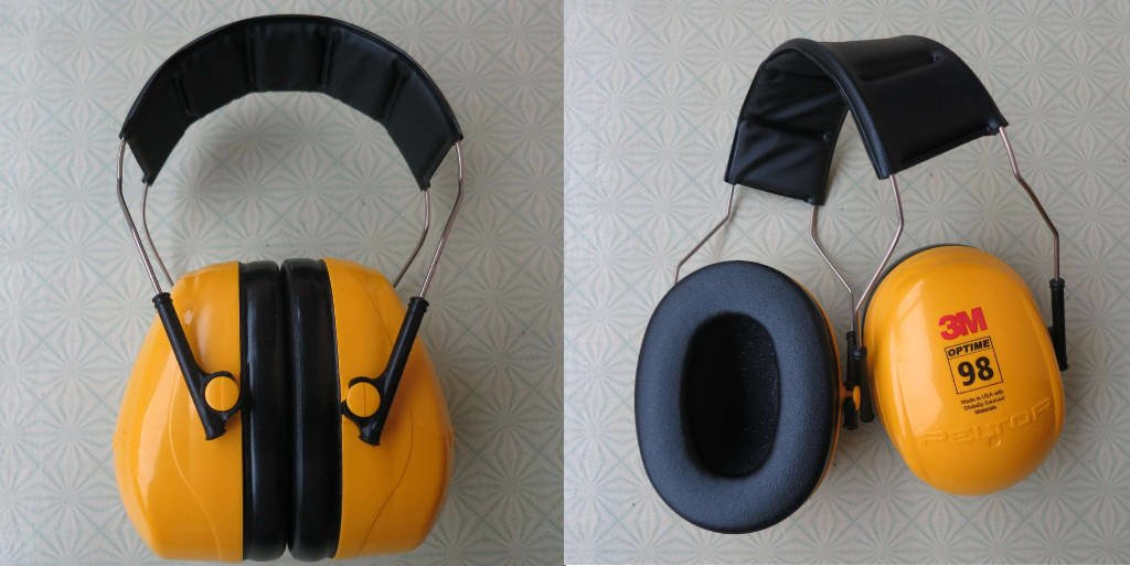 3M Peltor Optime 98 H9A earmuffs