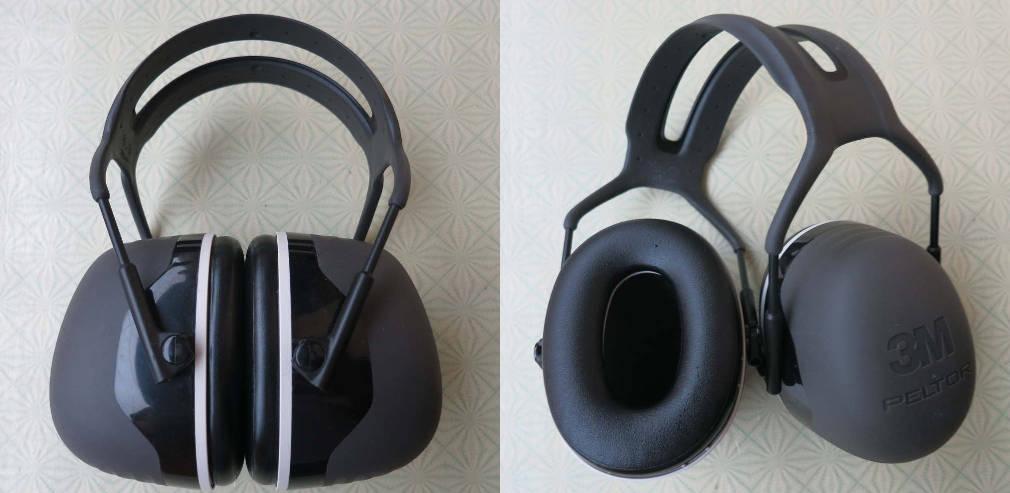 3M Peltor X5A earmuffs