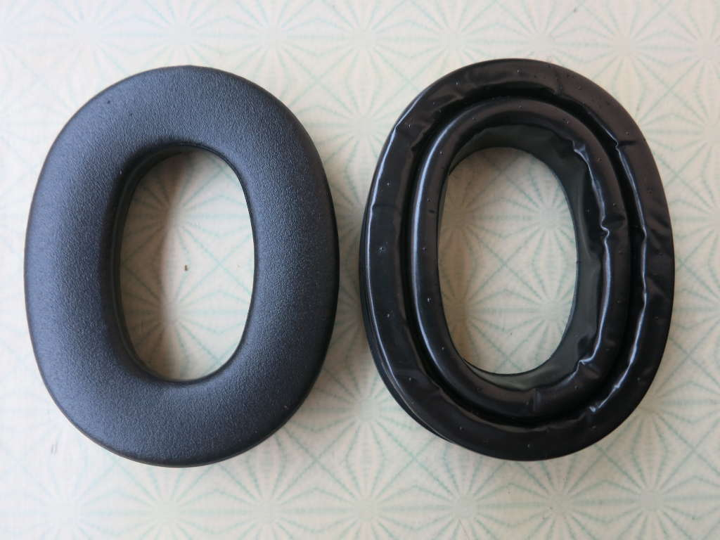 Peltor Gel Sealing Rings HY80 vs. standard ear pads