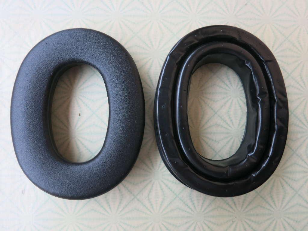 Peltor Gel Sealing Rings HY80 vs. standard ear pads
